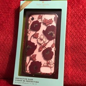 Kate Spade floral iPhone case